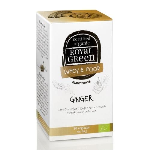 Royal Green royal Green Bio Zázvor 60 kapslí