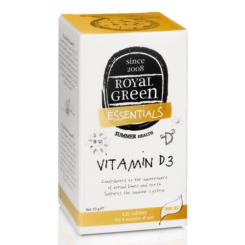 Royal Green Vitamin D3 120 tablet