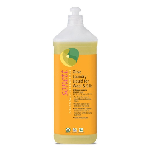 SONETT Olivový prací gel na vlnu a hedvábí 1 l