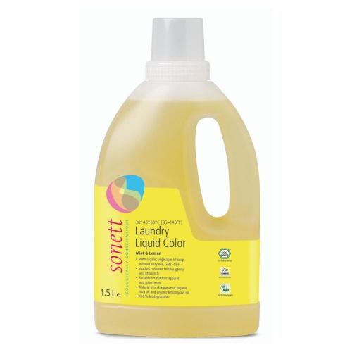 Sonett prací gel na barevné prádlo 1,5l
