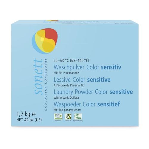 Prášek na praní COLOR - Sensitive 1,2 kg
