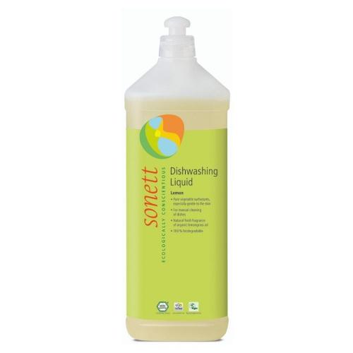 SONETT Tekutý prostředek na nádobí - citrón 1 l