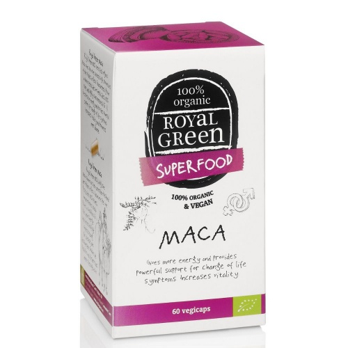 Royal Green Bio Maca 60 kapslí