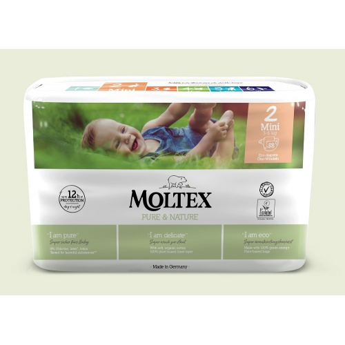 Moltex plenky Moltex Pure & Nature Mini 3-6kg (38 ks)