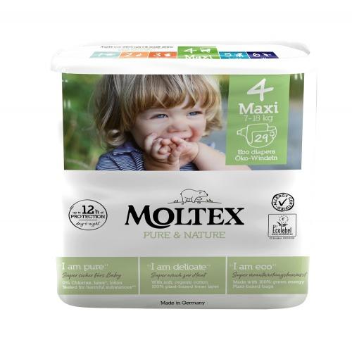 Moltex plenky Moltex Pure & Nature Maxi 7-18kg (29 ks)