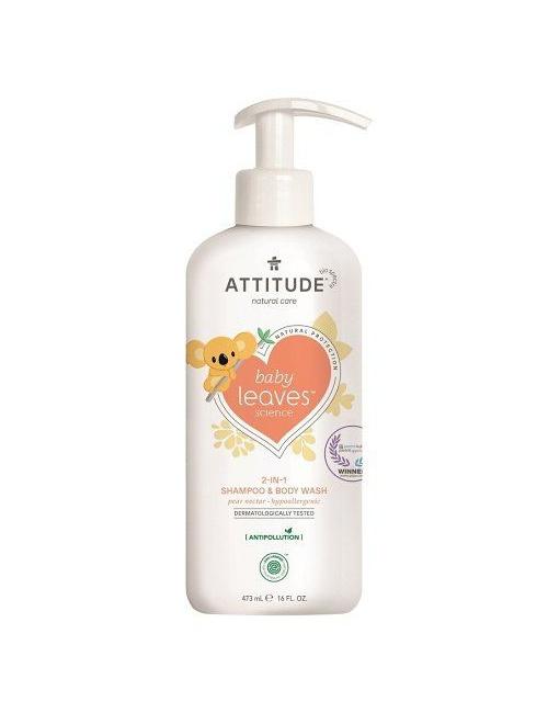 Dětské tělové mýdlo a šampon (2v1) hruška