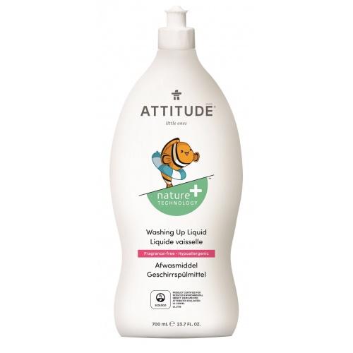 Attitude prostředek na mytí nádobí pro děti bez vůně