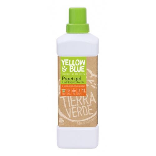 Tierra Verde prací gel pomeranč 1l