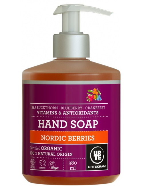 Urtekram tekuté mýdlo na ruce Nordic Berries 380ml BIO