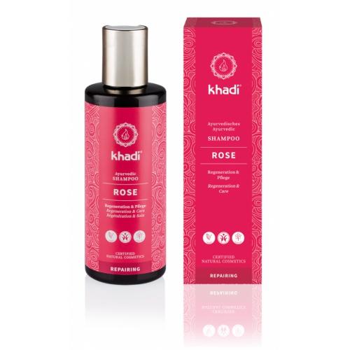 Khadi šampón RŮŽE reparační 210ml