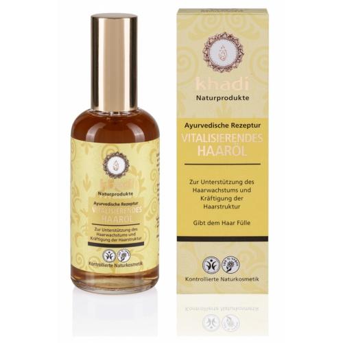 Khadi vlasový olej VITALITA stimulující růst 100ml