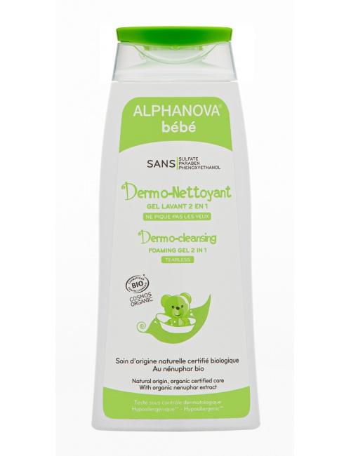Alphanova mycí gel na tělo a vlasy 200ml (Dmo-Netyoant) BIO