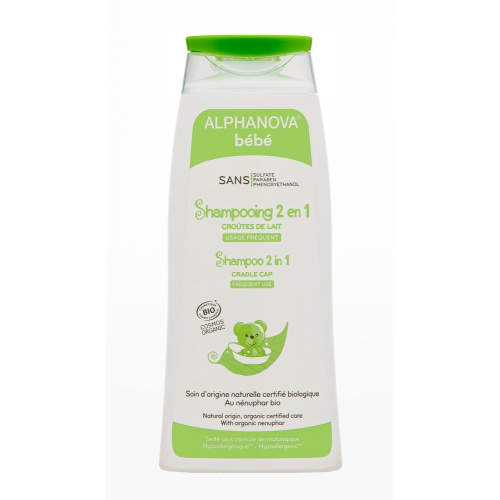 Alphanova ultra jemný šampon 2v1 200ml BIO