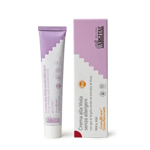 Argital hypoalergenní krém na obličej s violkou