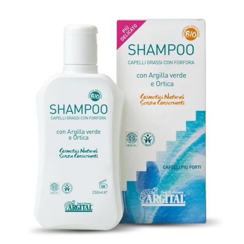 Šampon na mastné vlasy a proti lupům s kopřivou