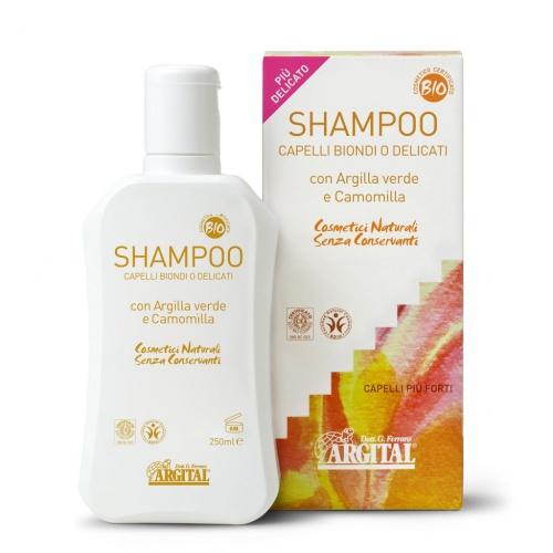 Rozjasňující šampon na blond a jemné vlasy