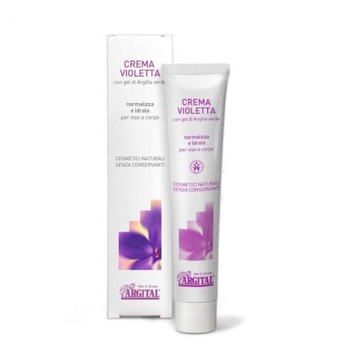 Vyrovnávací krém na dermatitidu s violkou