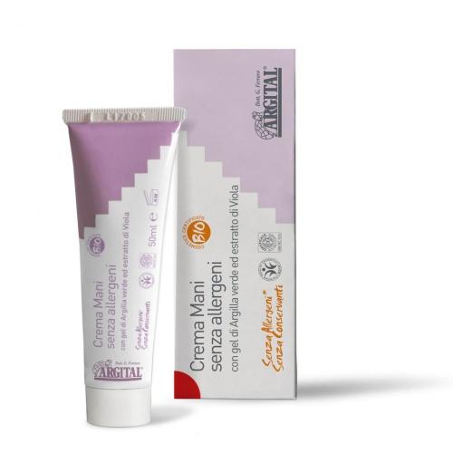 Hypoalergenní krém na ruce s violkou