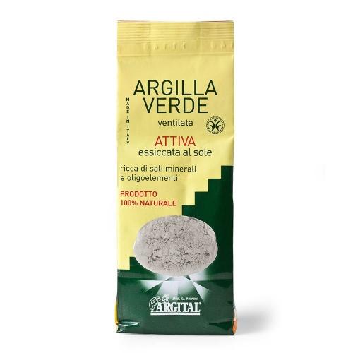 Argital aktivní zelený jíl vysušený sluncem Ventilated