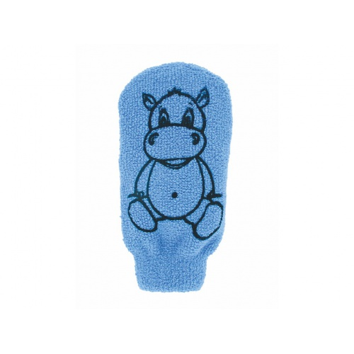 Förster´s dětská mycí žínka bavlna - velká - modrá