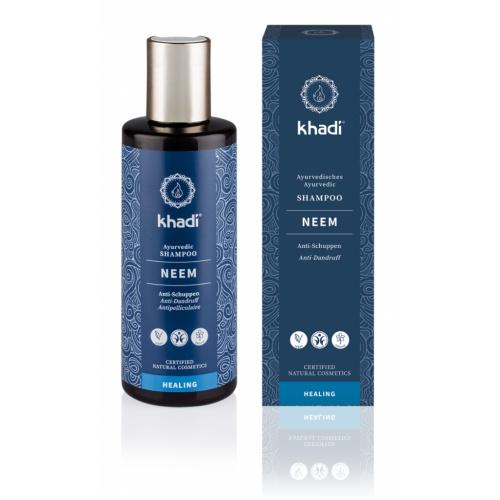 khadi Šampon neem proti lupům 210 ml