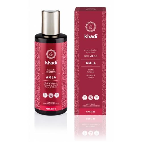 Khadi Šampon pro objem amla 200 ml