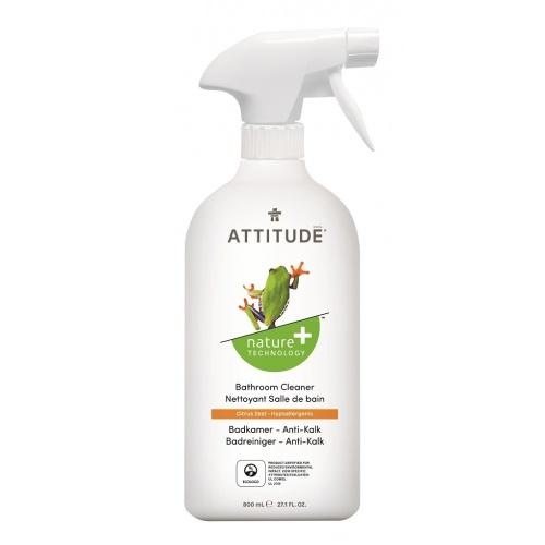 Attitude čistič na koupelny s vůní citronové kůry