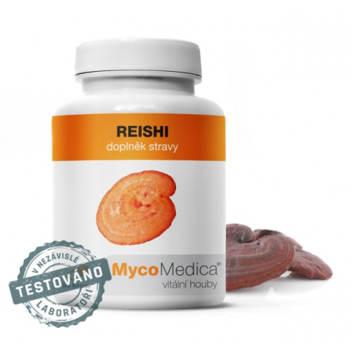 MycoMedica doplněk stravy Reishi 90 kapslí