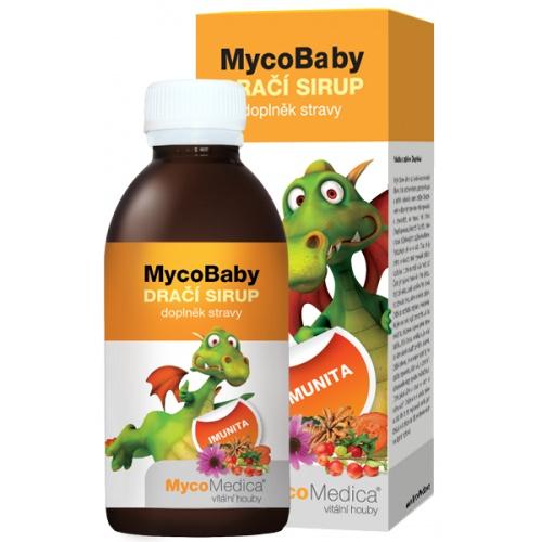 MycoMedica dětský sirup MycoBaby dračí sirup 200ml