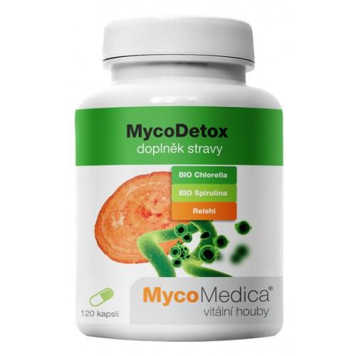 MycoMedica doplněk stravy MycoDetox 120 tobolek