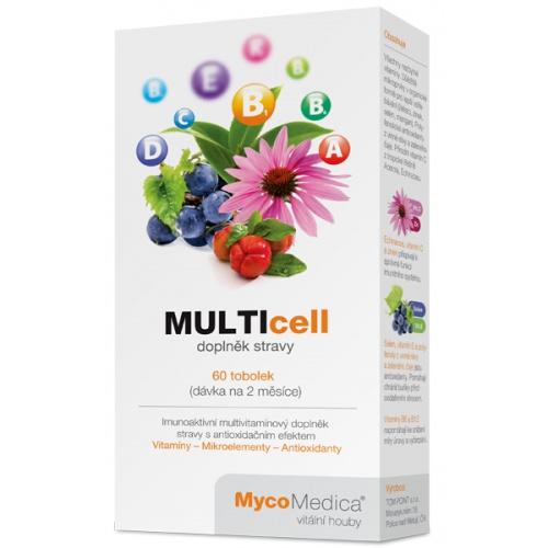 MycoMedica doplněk stravy MULTIcell 60 tobolek