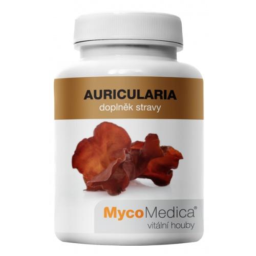 MycoMedica doplněk stravy Auricularia 90 tobolek