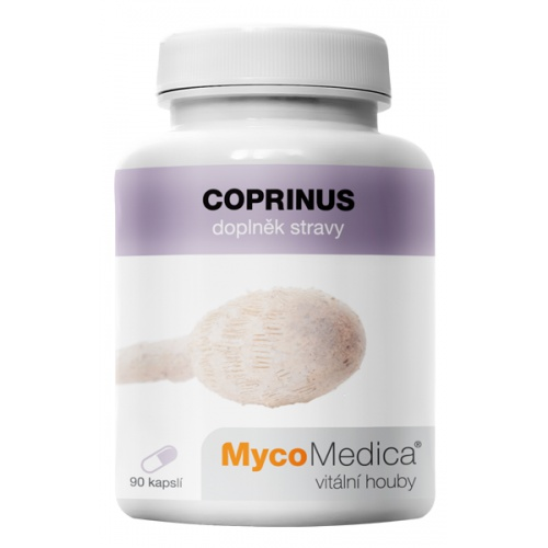 MycoMedica doplněk stravy Coprinus 90 kapslí