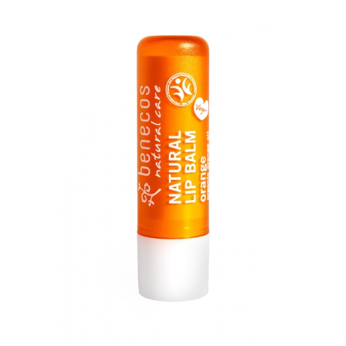 Benecos balzám na rty pomeranč BIO, VEG