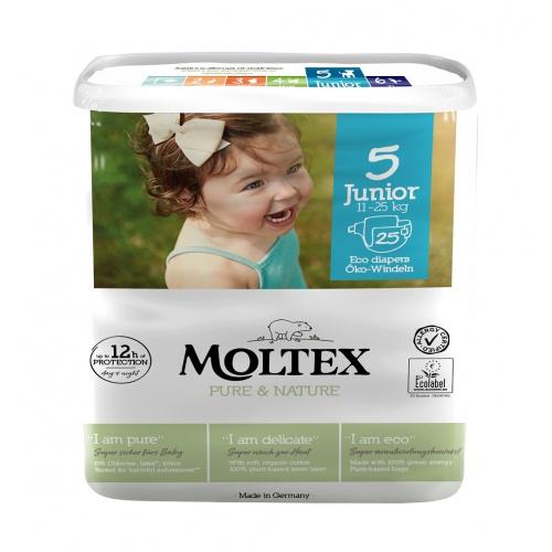 Moltex plenky Moltex Pure & Nature Junior 11-25kg (25 ks)