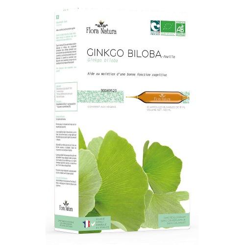 Flora Natura Ginkgo Biloba BIO 20 * 15ml