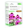 Echinacea je bylinka užívaná především v souvislosti s imunitním systémem. Echinacea účinkuje rychle, má široký záběr a dá se kombinovat. Je vhodná jako podpora celkové obranyschopnosti organismu při chřipkách, nachlazeních a zvýšeném výskytu infekčních onemocněních. Podporuje zdraví horních cest dýchacích.