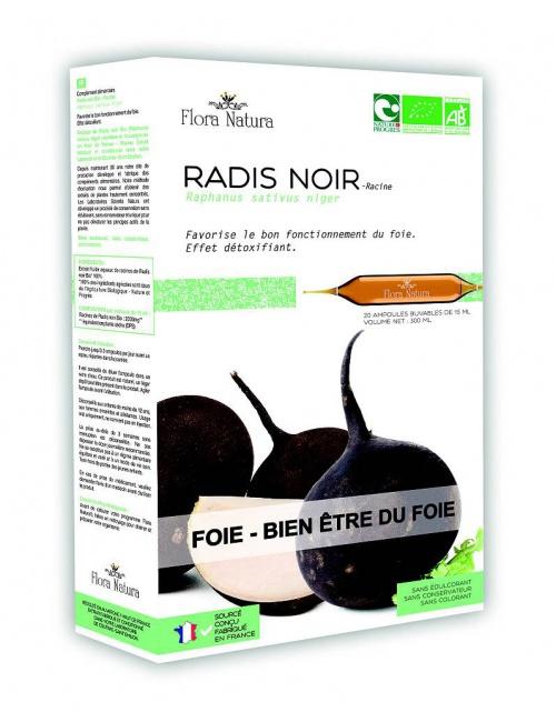 Flora Natura Rabanon - černá ředkev BIO 20 * 15ml