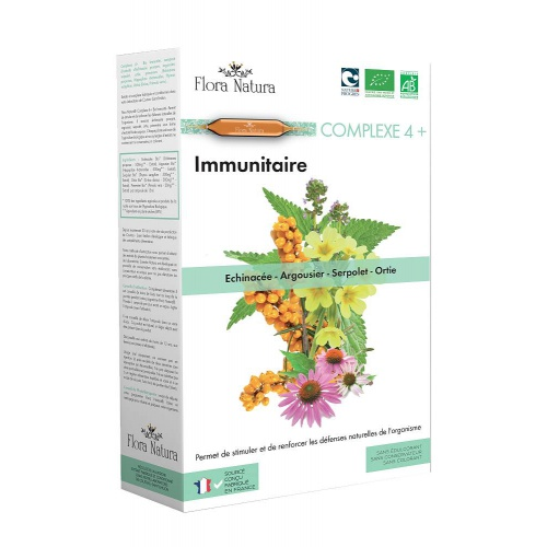 Flora Natura complex 4+ Imunita (echinacea, rakytník, serp.,.)