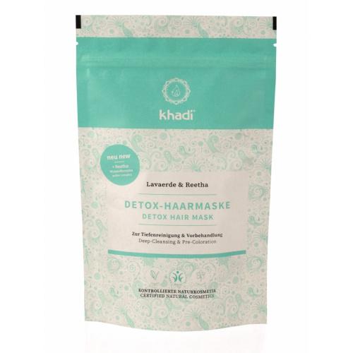 Khadi DETOX vlasová maska RHASSOUL & REETHA 150g
