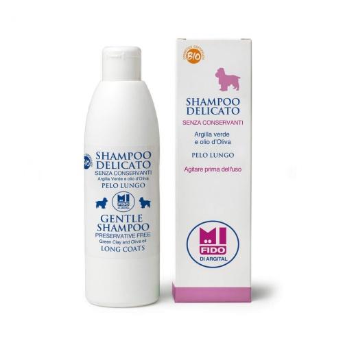 Mi Fido jemný BIO šampon pro psy - dlouhá srst 250ml
