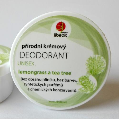 Přírodní krémový deodorant unisex mini 15ml
