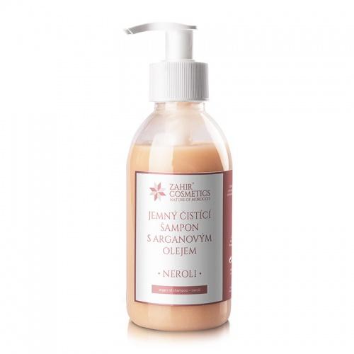 Jemný čistící arganový šampon - NEROLI 200ml