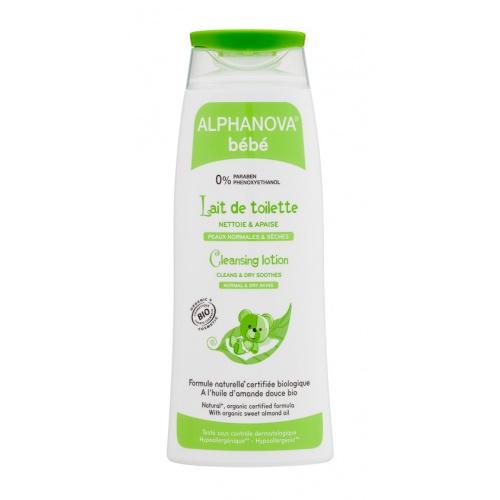 Alphanova čistící tělové mléko s olivovým olejem 200ml BIO