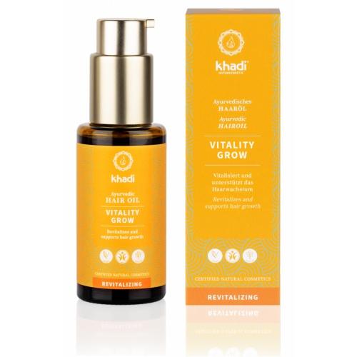 Khadi vlasový olej Vitalita stimulující růst 50ml