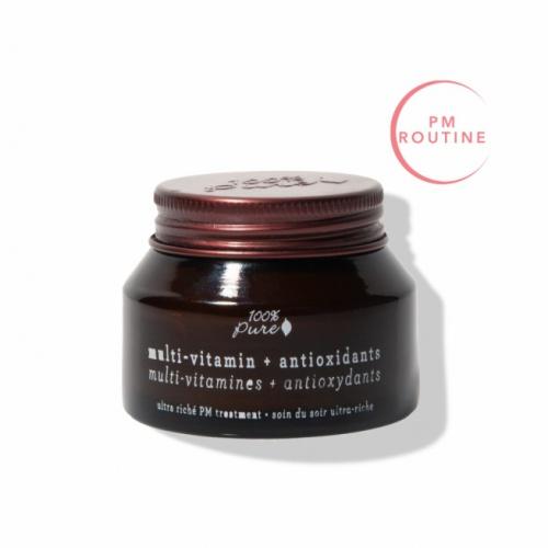 100% Pure pleťový noční krém Multivitamín a antioxidanty 42,5g