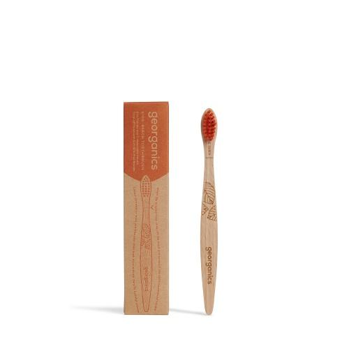 Zubní kartáček z bukového dřeva kids