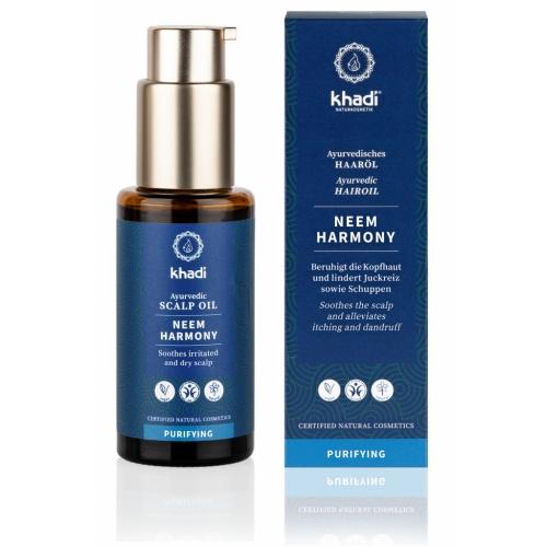 Khadi vlasový olej Neem harmonie 50ml