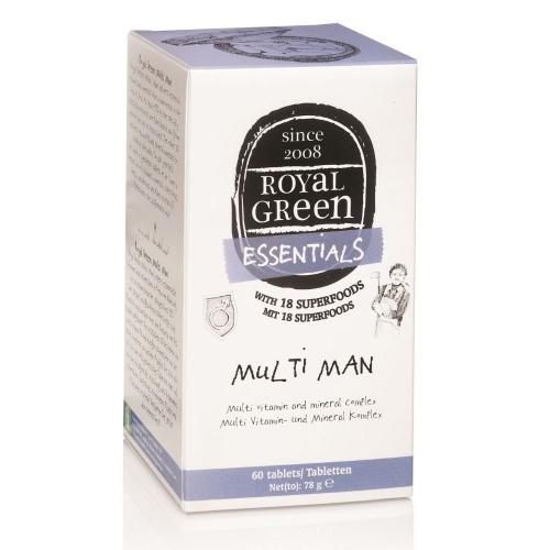Royal Green royal Green Multivitamín pro muže 60 tablet