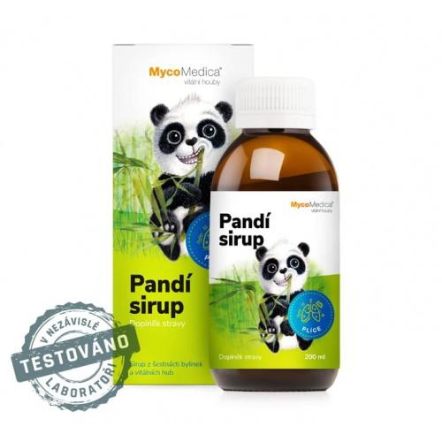MycoMedica dětský sirup Pandí sirup 200ml